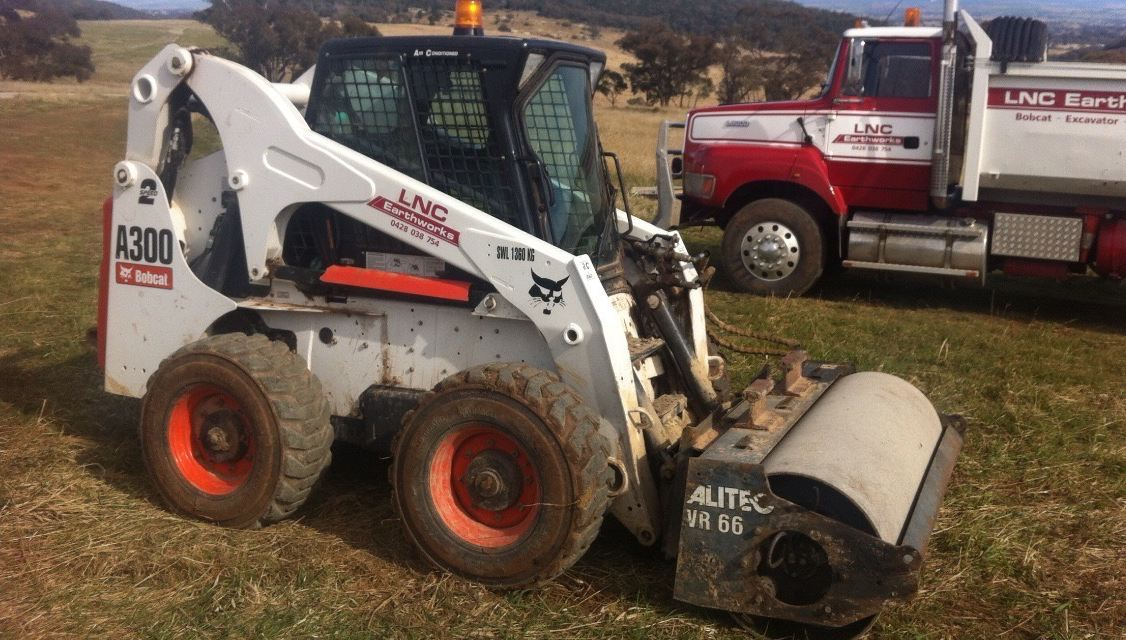 Orange NSW Bobcat Roller Hire